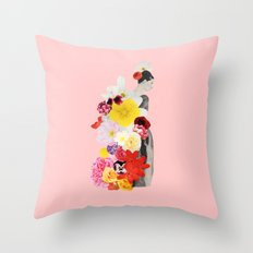 cecelia waits Throw Pillow