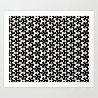 Van Klaveren Pattern Art Print