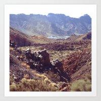 Mount Teide Art Print
