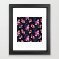 Grimes Repeat Framed Art Print