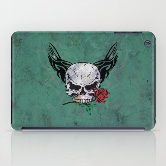 skull II iPad Case