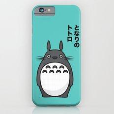Totoro Pop Art - Blue Version iPhone 6 Slim Case