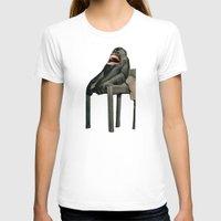monkey T-shirts featuring Monkey by Fabio D'Amato