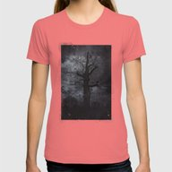 The Dirty Winter Spirit Womens Fitted Tee Pomegranate SMALL