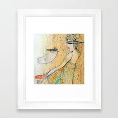 Blanche Framed Art Print