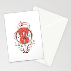 A Legend of Blood Stationery Cards