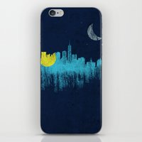 city that never sleeps iPhone & iPod Skin