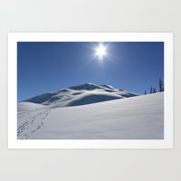 Tincan Peak Art Print