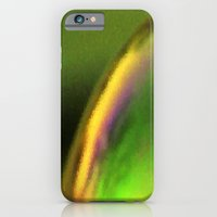 iPhone & iPod Case featuring Golden green by Anna Brunk