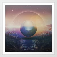 ∆ apparent Art Print