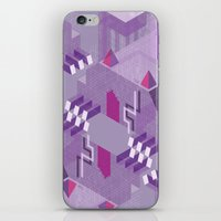 Den of the Headless Lion in Purple and Lavender iPhone & iPod Skin