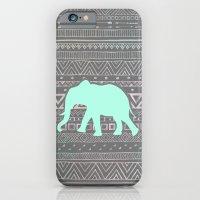 Mint Elephant  iPhone 6 Slim Case