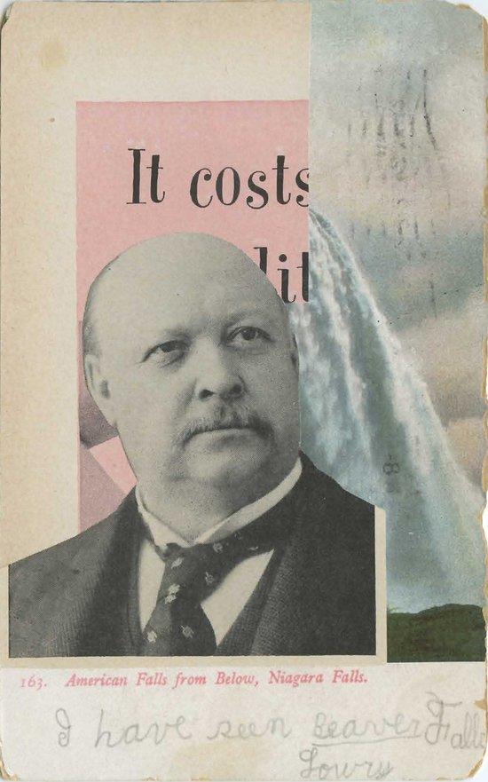 Postcard #24 Art Print