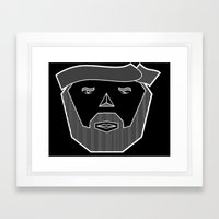 Dude Framed Art Print
