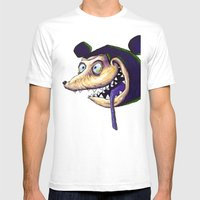 Mike  Mens Fitted Tee White SMALL