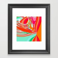 Re-Created  Sour Candy 5… Framed Art Print