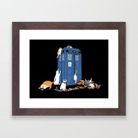 Who Cats Framed Art Print