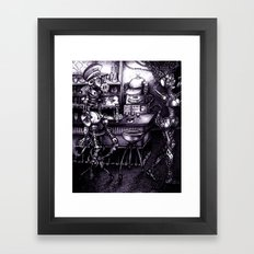 Compatibility Check Framed Art Print