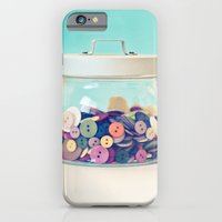 Where's Baby's Button? iPhone 6 Slim Case