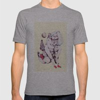 Inner Neptune Mens Fitted Tee Athletic Grey SMALL