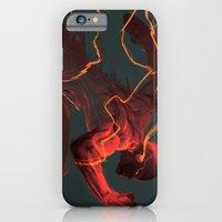 iPhone Cases featuring The Flash by MATT DEMINO