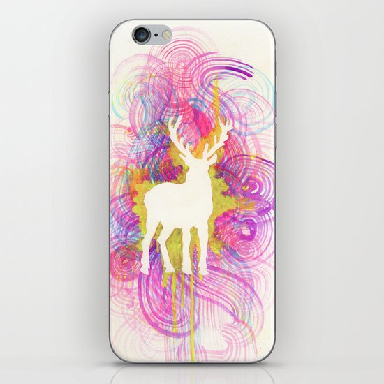Hipster Deer iPhone & iPod Skin