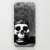 iPhone & iPod Case featuring caveira by Marcelo O. Maffei