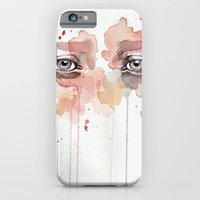 Missing you, watercolor eye study iPhone 6 Slim Case