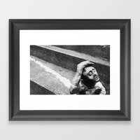 Hopeful Clay Framed Art Print