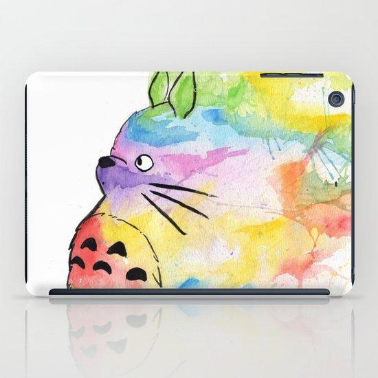 My Rainbow Totoro iPad Case