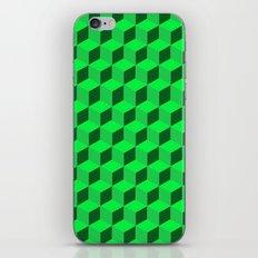 Geometric Series (Green)  iPhone & iPod Skin