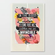 The Invincible Summer Canvas Print