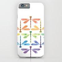 Rainbow Damselflies iPhone 6 Slim Case