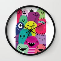Pile of awesome Wall Clock