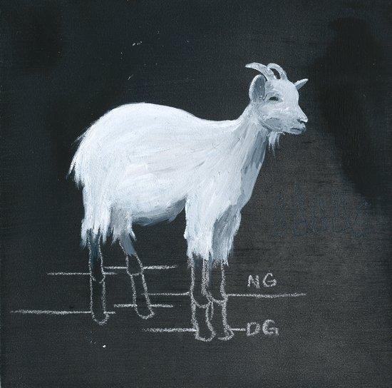 The Grim Goat Art Print