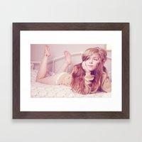 Morning Tea Framed Art Print
