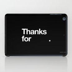 (NOTHING) iPad Case