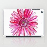 Pink Gerber Daisy iPad Case