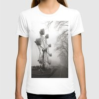 Amusements on the Road of Life Womens Fitted Tee White SMALL