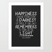Dumbleism - Dumbledore Quote 2 Art Print