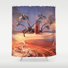 In the event of sinking Shower Curtain