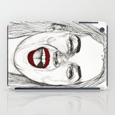 Kate with the Red Lips iPad Case