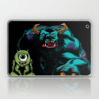 Mike & Sully (black)... Laptop & iPad Skin