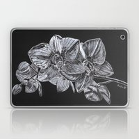 Silver Orchid Laptop & iPad Skin