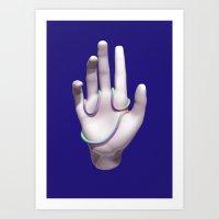 Face Palm Art Print