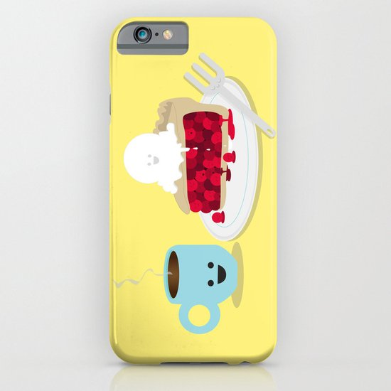 Coffee and Pie iPhone & iPod Case