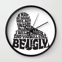 Best Churchill Quote Eve… Wall Clock