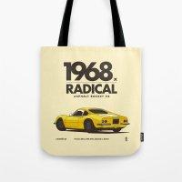 1968 Tote Bag