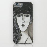 Bright Eyed Girl iPhone 6 Slim Case