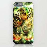 Animal - Grunge Watercolor - Tiger iPhone 6 Slim Case